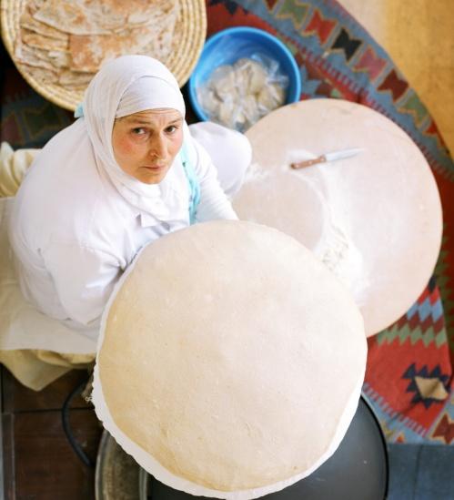 South-Mount-Lebanon-A-Women-Preparing-Markouk-Bread-Photo-by-Teddy-Mouarbes-Copy