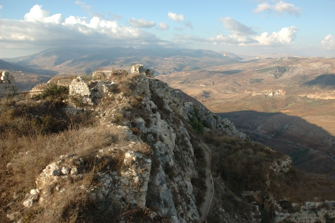 View_from_Beaufort_Castle,_Lebanon,_2006