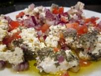 Shanklish salad