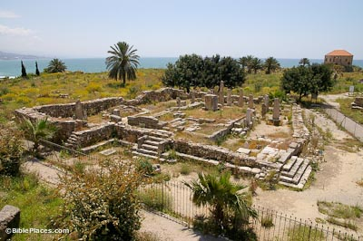 Byblos-Obelisk-Temple-from-Persian-fortress-adr090507307-bibleplaces