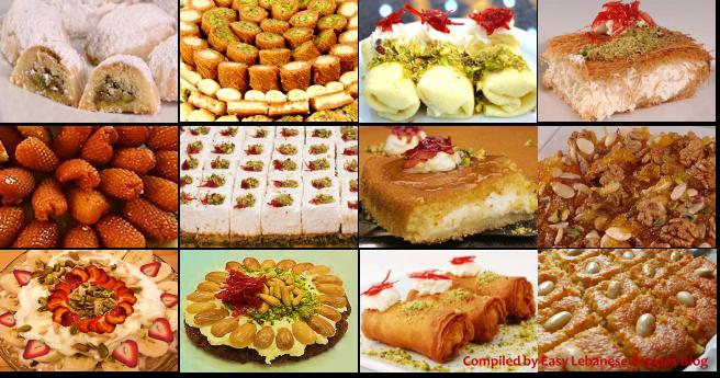 Lebanese-Sweets